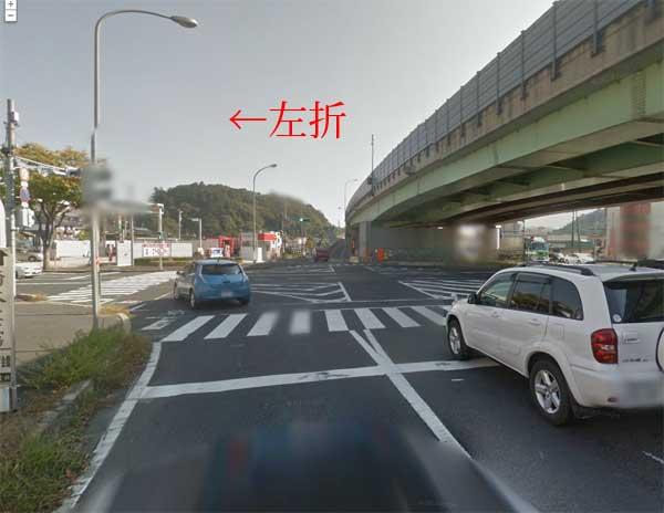 松江西インター降り口西側