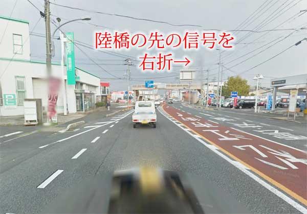 津田小学校入口西